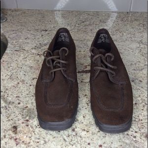 KEDS Ladies Lace Up Suede Shoes/Sneakers  Size 7